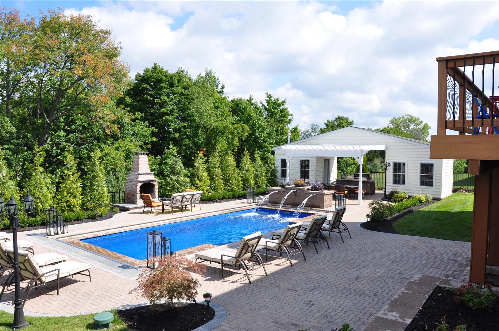 Patios Albert Group Landscaping Swimming Pools - Swimming-pool-patio-designs