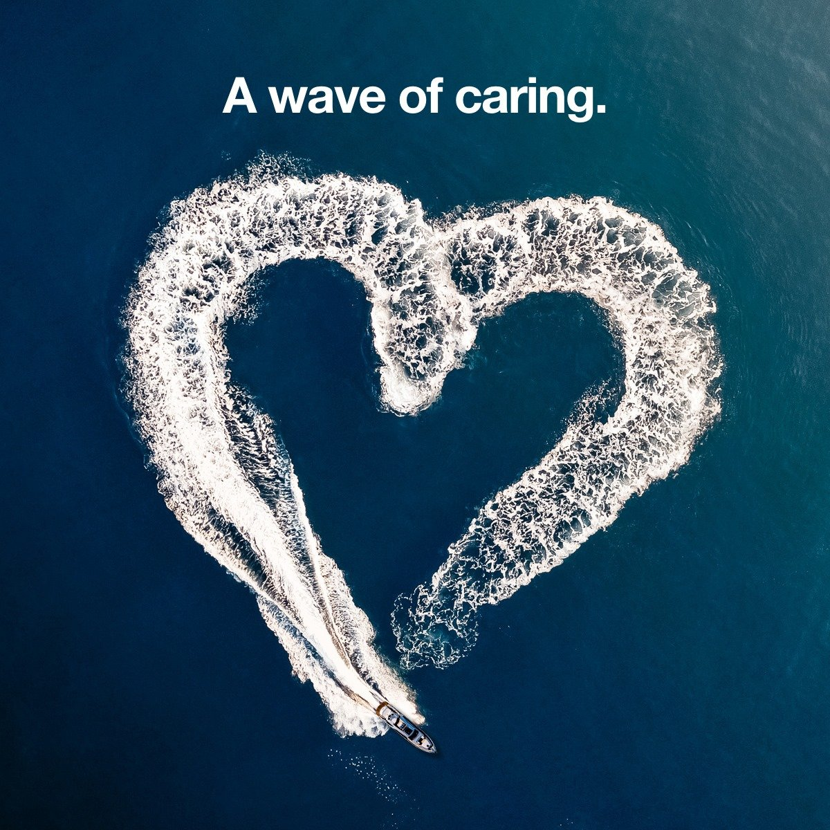 A wave of caring cover