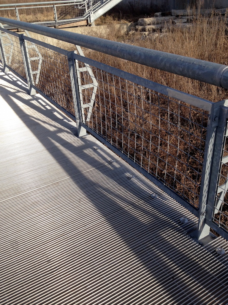 Ohio Gratings Vs Permatrak Concrete Boardwalk Product