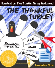 Free Thanksgiving Activity for Students: The Thankful Turkey