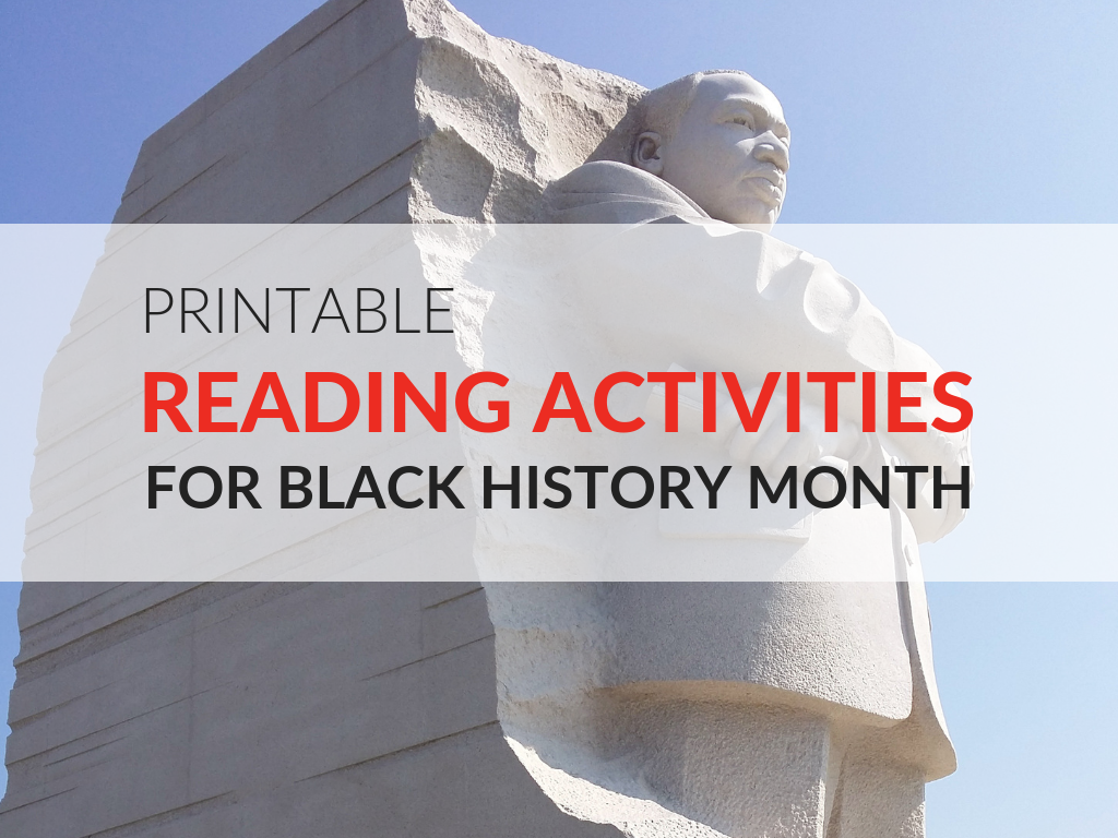 image regarding Black History Month Printable Activities referred to as Printable Looking through Pursuits for Black Heritage Thirty day period