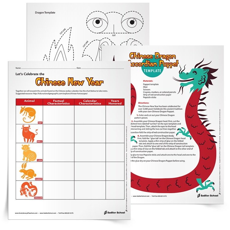 Chinese New Year Activities For Elementary Students