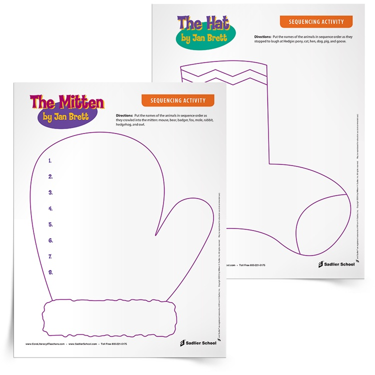 Free Sequencing Worksheets for Kindergarten and Grade 1 Students – Sequencing Worksheet for Kindergarten
