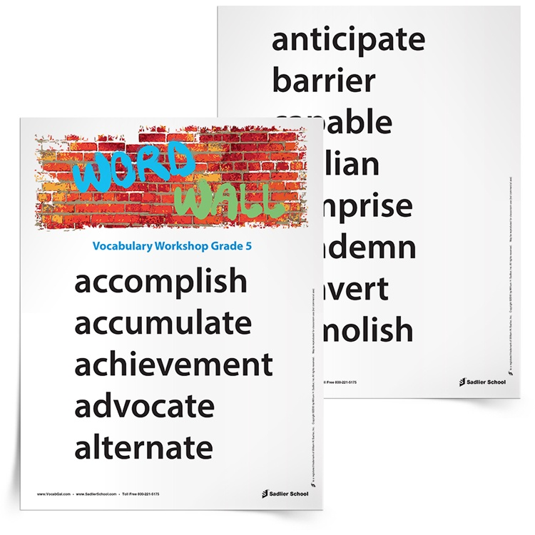 Printables 5th Grade Vocabulary Worksheets 5th grade vocabulary worksheets printables and resources