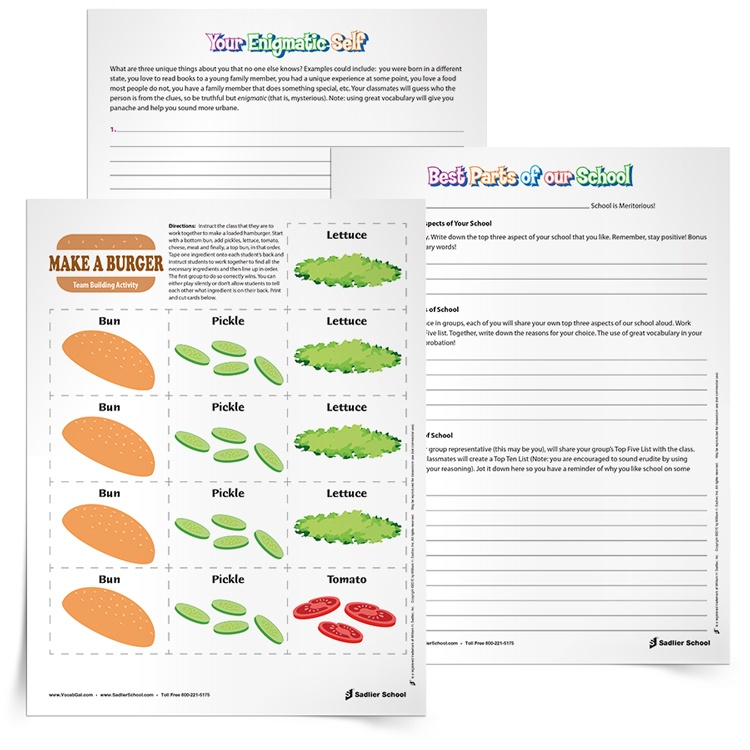 creative writing activities for elementary school students Inspire thoughtful creative writing for all of the following writing activities how have you used the arts to inspire creative thinking in your students.