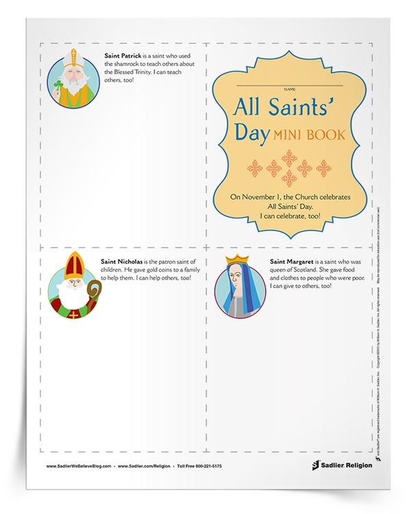 El Minilibro Día de Todos los Santos para niños
