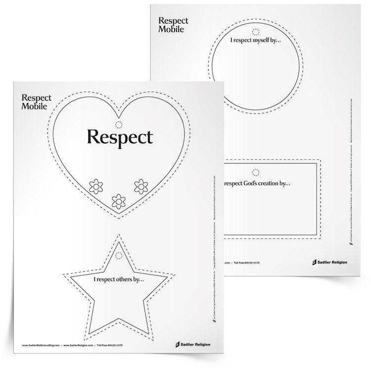 Teaching Respect to Children A Great Way to Honor Martin Luther – Worksheets on Respect