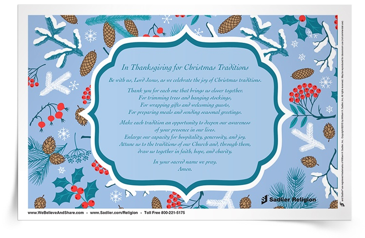 Christmas Printable Activities & Prayers for Catholic Kids