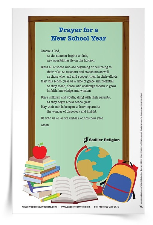 Resources for Starting a New Year of Catholic Religious Education