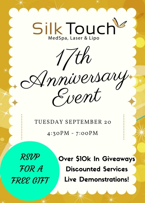 17th Anniversary Party RSVP. Over 10k In Prize Give Aways!