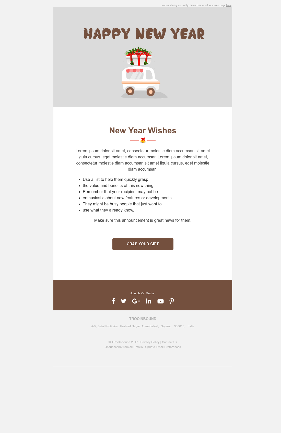 Animated GIF Email - Wishing Happy New Year | HubSpot