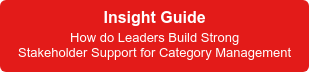 Insight Guide  How do Leaders Build Strong Stakeholder Support for Category Management