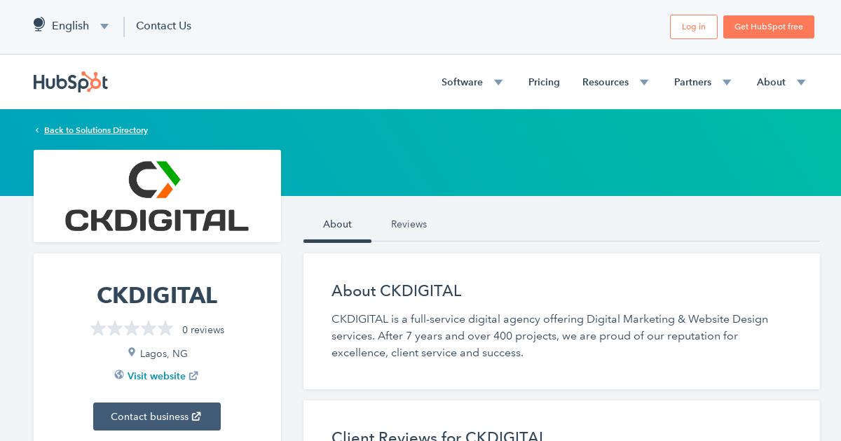 Ckdigital Agency Services Qualifications Hubspot